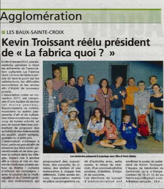 Article janvier 2015 eure info