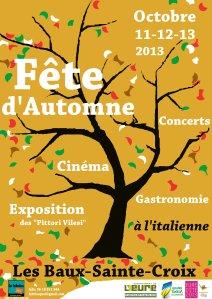 affiche fete itlaie- La fabrica quoi- oct.2013