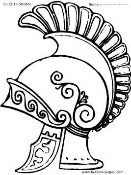 casque romain- La fabrica quoi