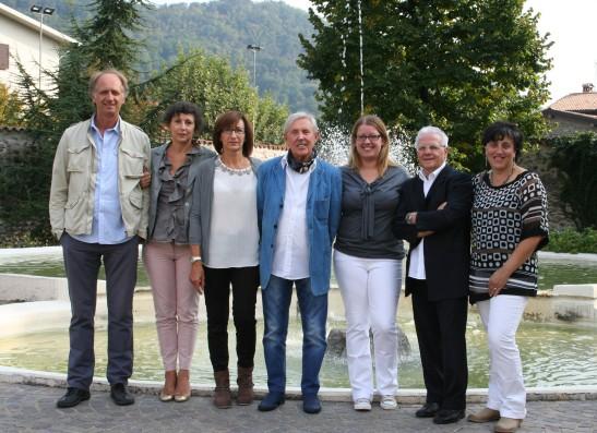 groupe des peintres villesi qui viendront les 11 12 13 octobre exposer aux Baux-Sainte-Croix