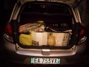 Bergamo- voyage d'Emanuele et Osvaldo