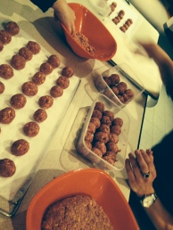 400 meat balls..