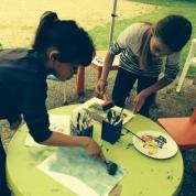©La fabrica quoi- peinture enfant - Les Baux sainte croix - 2014