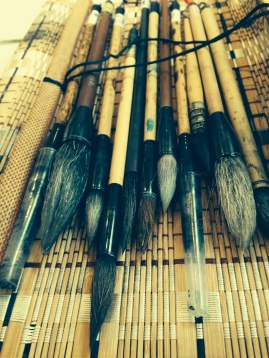 les outils d'un cȏté ...