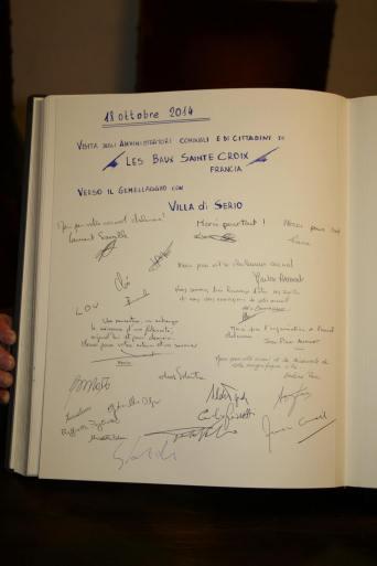 livre d'or villa di serio - 19 octobre 2014 - La fabrica quoi