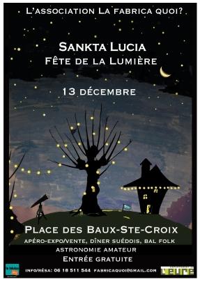affiche sanktaòla fabrica quoi 2014 les baux ste croix