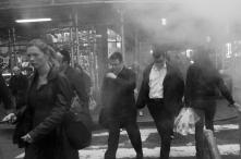 Fumée de Bouches d'égout à NY