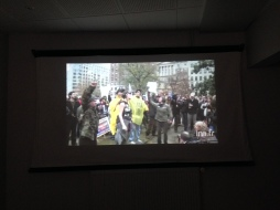 salle projection Occupy