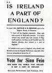flyer Sinn Fein