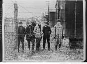 Dans un camp de prisonniers Sinn Feiners en Irlande Auteur : Agence Rol. Date d'édition : 1920 Archives BNF
