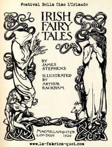 coloriage Irlande Fairy Tales