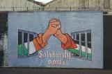 Belfast . Wall