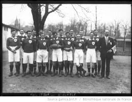 Parc des Princes, équipe d' Irlande [rugby] Auteur : Agence Rol. Date d'édition : 1922 Archives BNF
