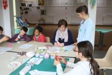 Atelier guirlande d'Origamis