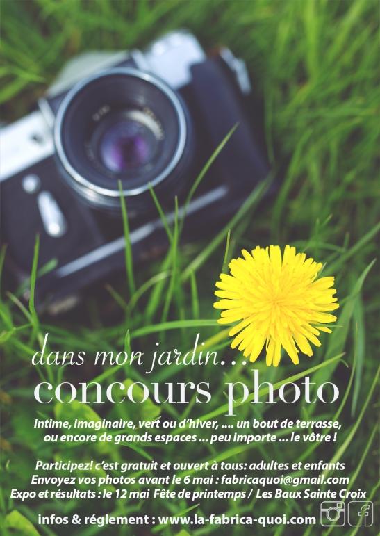 affiche concours photo site